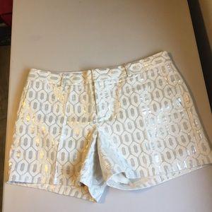 Banana republic lined shorts size 10.